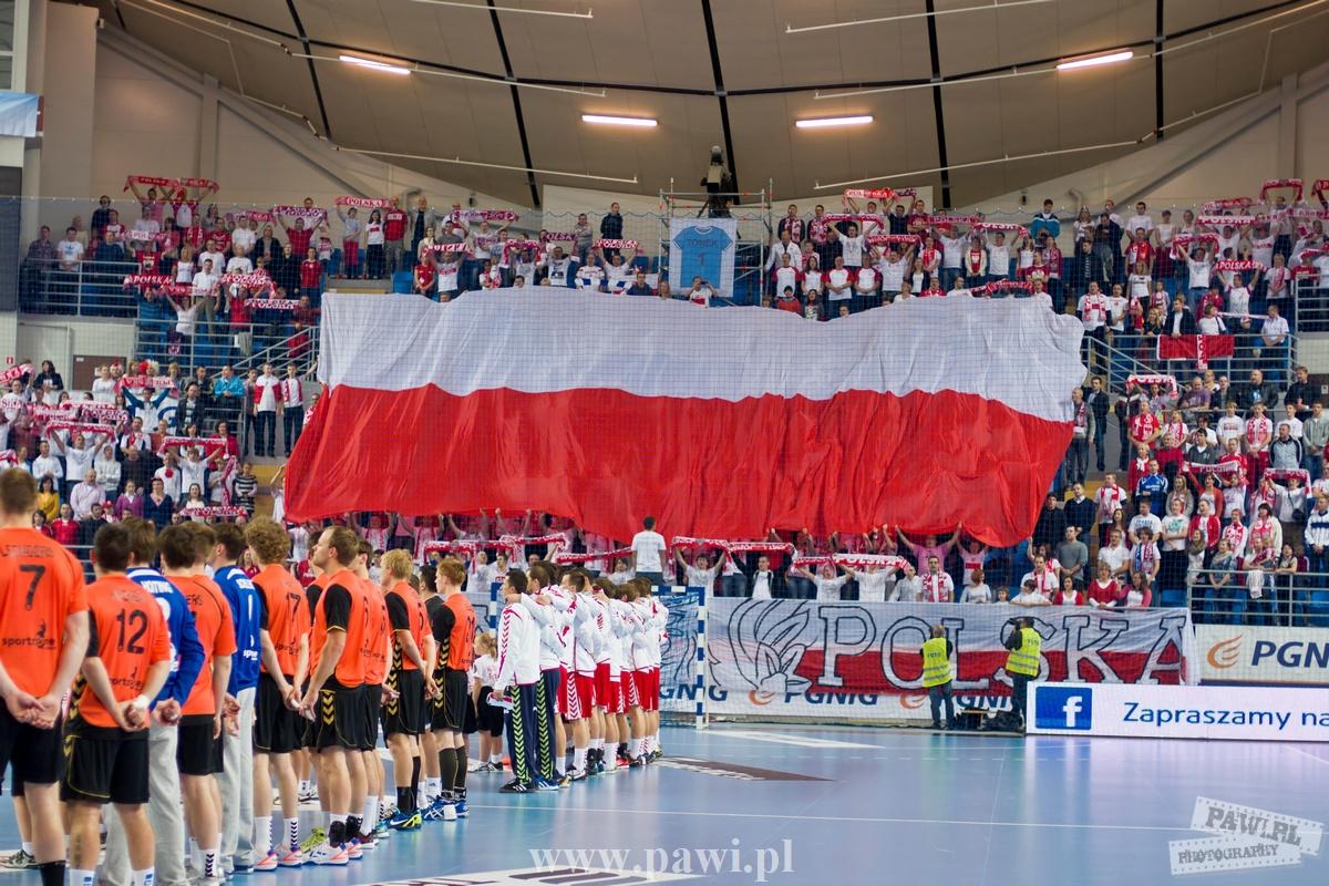 Eliminacje do Mistrzostw Europy Dania 2014, Polska – Holandia 33:22 (16:8) zdjęcia z meczu
