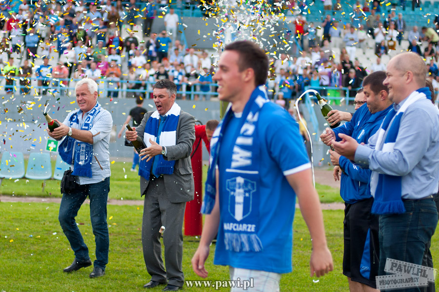Wisła Płock – Siarka Tarnobrzeg (II liga) 5:0 (4:0)