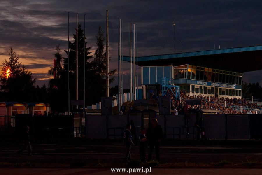 Wisła Płock – Arka Gdynia 2:1 (2:0) – I liga – piłka nożna