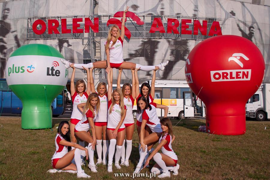 Cheerleaders Flex Sopot podczas FIVB World Grand Prix 2013 Płock