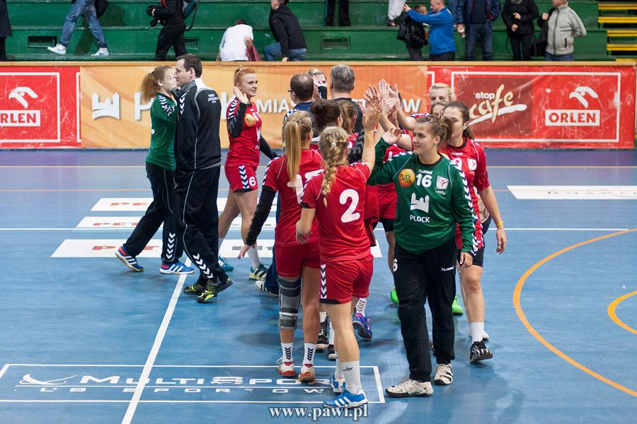 MMKS Jutrzenka Płock – AZS AWF Warszawa 32:30 (27:27, 12:13) 1/16 Pucharu Polski – kobiety – piłka ręczna