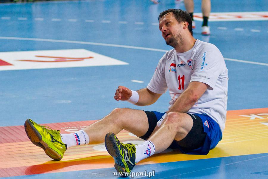 Wisła Płock – Górnik Zabrze (1/2 play-off – pierwszy mecz) 38:26 (19:15) /PGNiG Superliga/