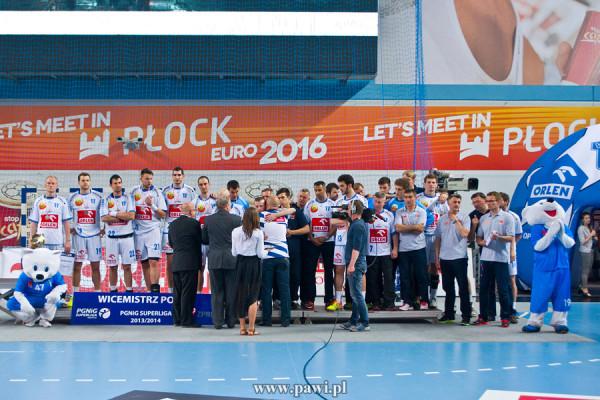 Wisła Płock – Vive Targi Kielce (Finał play-off – czwarty mecz) 25:34 (10:19) /PGNiG Superliga/