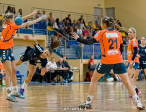 MKS Jutrzenka Płock – Korona Handball Kielce 30:28 (17:15) /I liga kobiet/ piłka ręczna