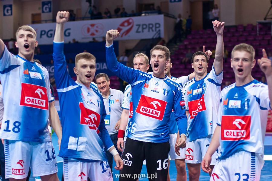 Wisła Płock – Azoty Puławy 40:37 (23:18) /Puchar Polski/ – piłka ręczna