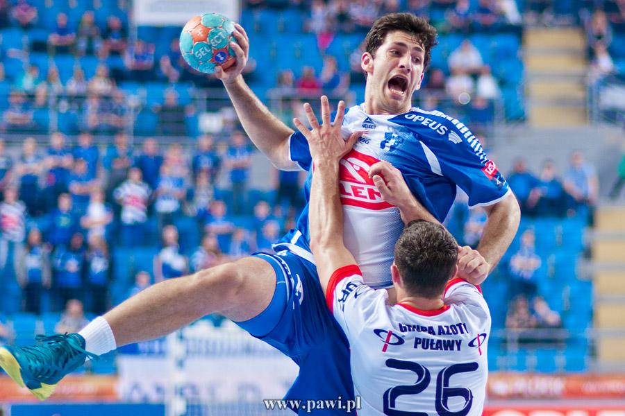 Wisła Płock – Azoty Puławy 24:18 (15:11) (półfinał play-off, pierwszy mecz) – PGNiG Superliga – piłka ręczna