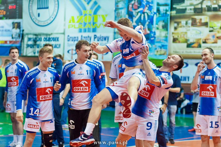 Azoty Puławy – Wisła Płock 29:31 (15:12) (półfinał play-off, trzeci mecz) – PGNiG Superliga – piłka ręczna