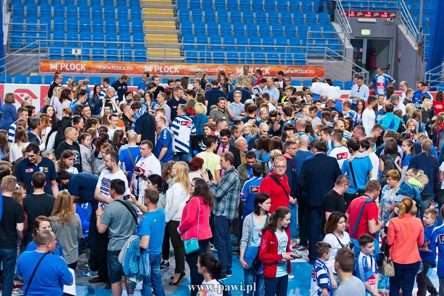 Wisła Płock – zakończenie sezonu 2014/15 – piłka ręczna