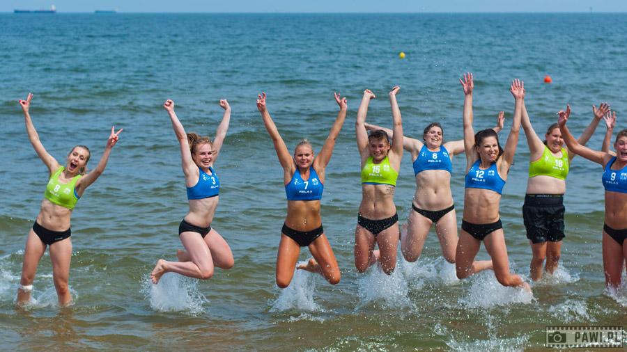PGNiG Polish Beach Handball Tour 2015 – Gdańsk (drugi turniej), dzień pierwszy