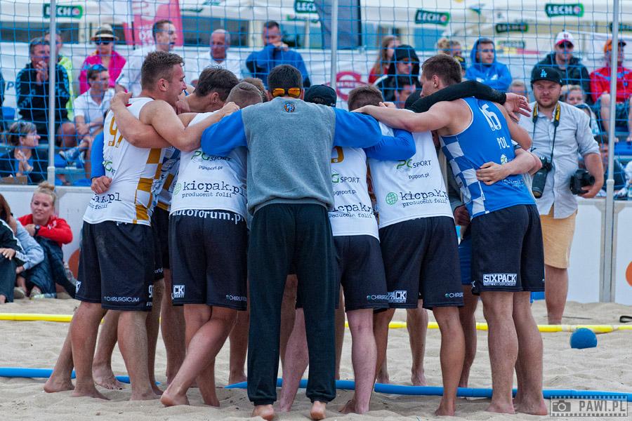 PGNiG Polish Beach Handball Tour 2015 – Gdańsk (drugi turniej), dzień drugi