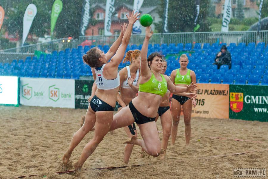 Mazury Cup 2015 – Puchar Polski w plażowej piłce ręcznej (dzień pierwszy)