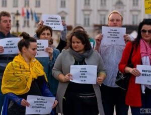 Uchodźcy mile widziani – Happening w Płocku