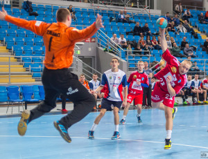 Wisła Płock – KS Gwardia Opole 43:27 (20:12) – piłka ręczna, 1/4 Mistrzostw Polski Juniorów 2016