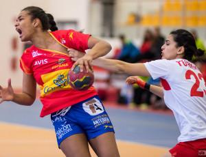 Kwalifikacje do Młodzieżowych Mistrzostw Świata kobiet 2016: Hiszpania – Turcja 29:20 (10:8), piłka ręczna