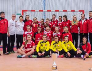 Kwalifikacje do Młodzieżowych Mistrzostw Świata kobiet 2016: Polska – Słowacja 31:21 (19:9), piłka ręczna