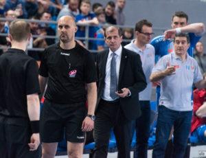 Wisła Płock – Azoty Puławy 35:34 (16:19) (półfinał play-off, pierwszy mecz) – PGNiG Superliga – piłka ręczna