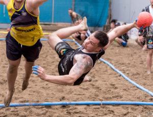 EBT Thessaloniki 2016 European Beach Handball Tour – dzień 1, piłka ręczna plażowa