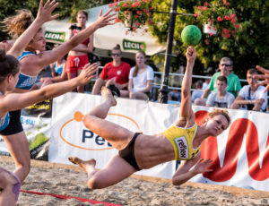 Beach Handball Płock 2016 – dzień 1 (sobota)