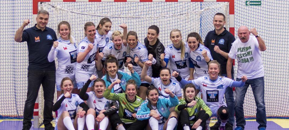 SMS ZPRP Płock – Jutrzenka Płock 22:23 (13:12) – I liga kobiet, sezon 2016/2017