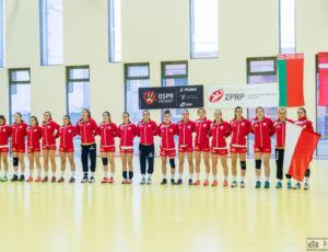 Polska – Białoruś 31:21 (16:13) – Międzynarodowy Turniej Juniorek Młodszych w Piłce Ręcznej