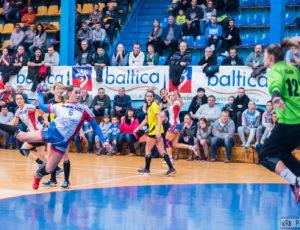 Pogoń Baltica Szczecin – Olimpia-Beskid Nowy Sącz 33:23 (15:9) – PGNiG Superliga kobiet – piłka ręczna