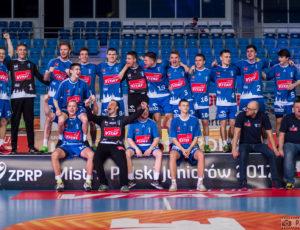 Ceremonia zamknięcia Final Four Mistrzostw Polski Juniorów w piłce ręcznej Płock 2017