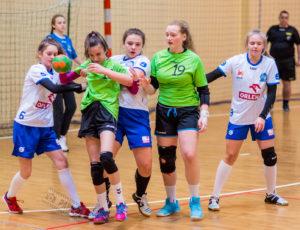MMKS Jutrzenka Płock – MKS Ochota Warszawa 25:21 (11:7) – piłka ręczna, młodziczki, sezon 2017/2018
