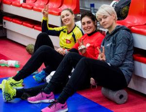 SMS ZPRP PŁOCK – POLSKA B 15:39 (10:20), mecz towarzyski kobiet, sezon 2017/18