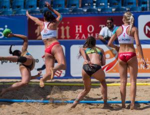 EBT Finals 2018 Stare Jabłonki – dzień 4, piłka ręczna plażowa