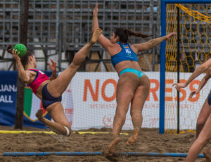 EHF Beach Handball Champions Cup Catania 2018 – day 2