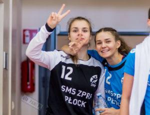 SMS ZPRP Płock – UKS Varsovia Warszawa 39:13 (16:7) – juniorki młodsze – piłka ręczna, sezon 2018/2019