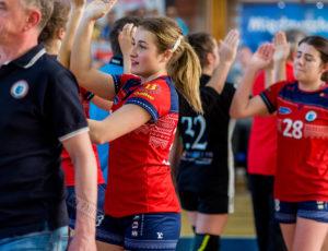 MKS Karczew – MTS Kwidzyn 22:25 (11:14) – piłka ręczna, I liga kobiet, sezon 2018/2019