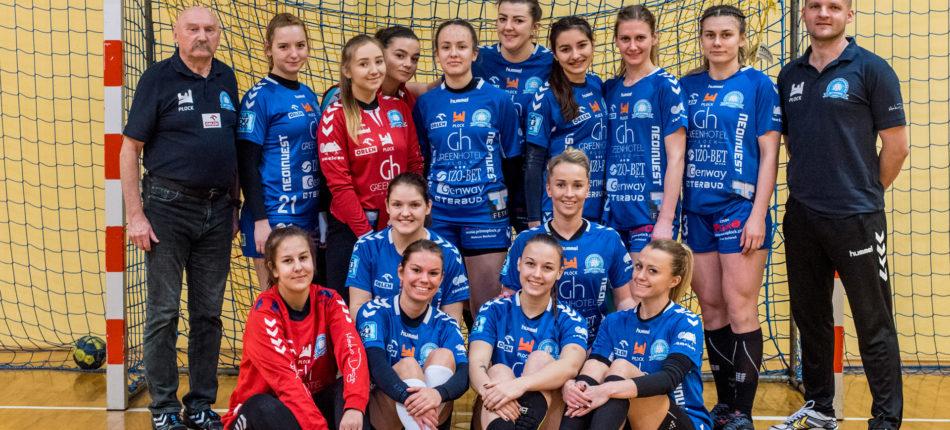 MMKS Jutrzenka Płock – ChKS PŁ Łódź 32:27 (16:16) – piłka ręczna, I liga kobiet, sezon 2019/2020
