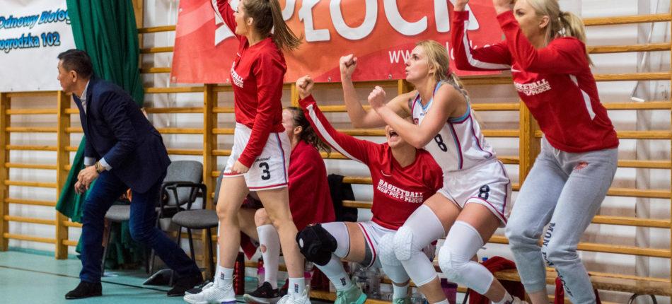 MON-POL Płock – CTL Zagłębie Sosnowiec 81:94 (22:30, 25:15, 18:32, 16:17) – koszykówka, pierwsza liga kobiet, sezon 2019/2020