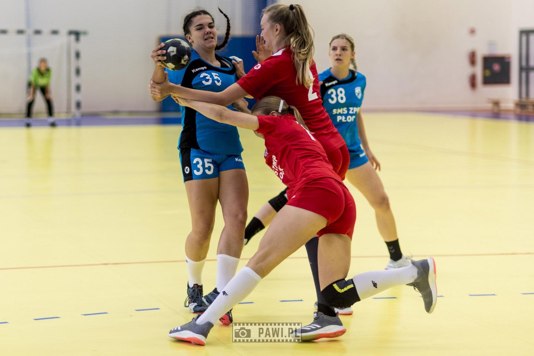 SMS ZPRP I Płock – SMS ZPRP II Płock 33:22 (17:13) – piłka ręczna, I liga kobiet, grupa A, sezon 2020/2021